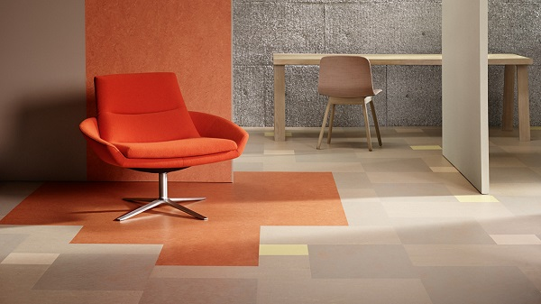 Photos : Marmoleum Modular - © Forbo