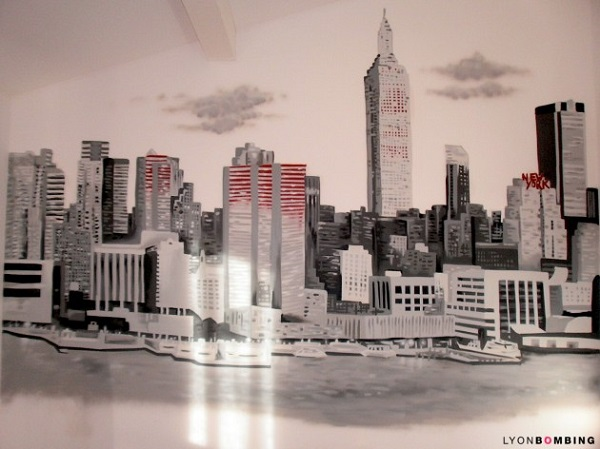 Graffiti New York Chambre
