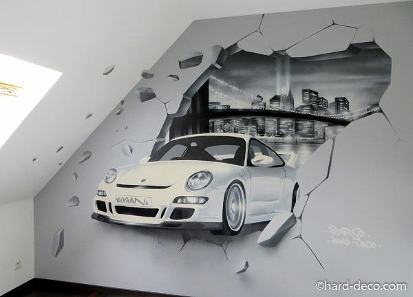 Graffiti Voiture Chambre
