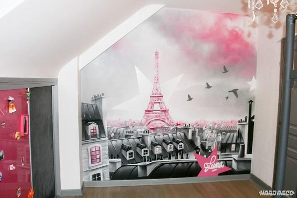street art déco chambre