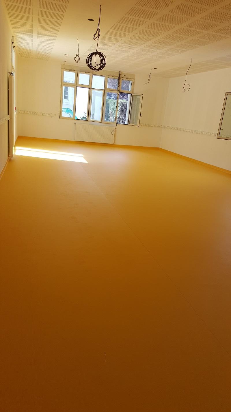 Pose revêtement de sol PVC Hôpital Avignon Pacasol