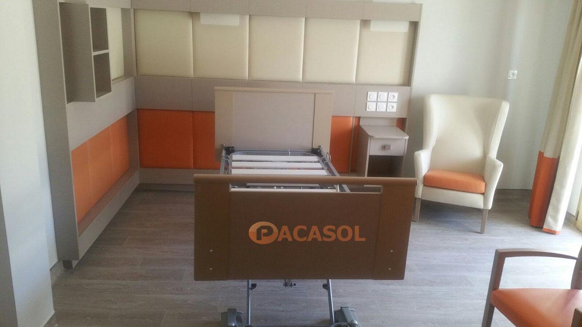 Pose revêtement de sol en remontée en plinthe Maison de retraite - Pacasol