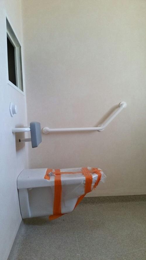 Système douche intégrale Tarastep Maison de retraite Pacasol