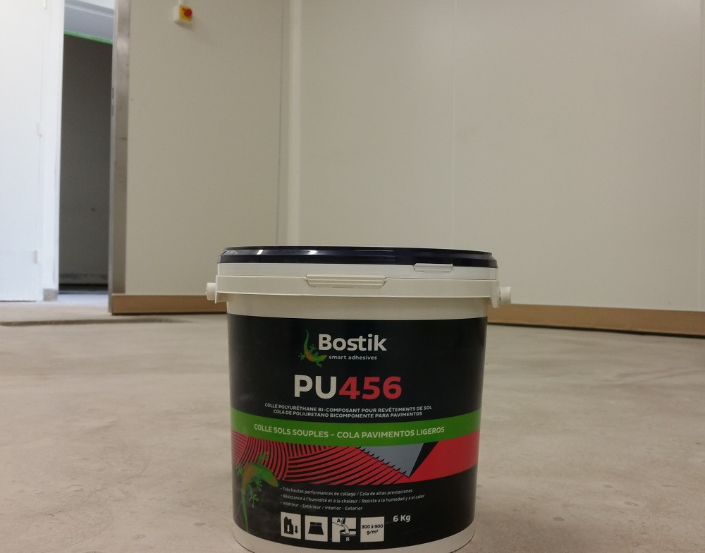 Colle polyurethane sol souple Bostik