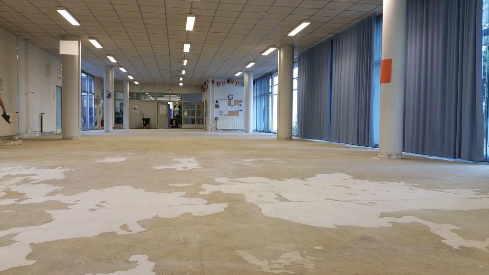 Support avant ragréage Lycée Toulon Pacasol