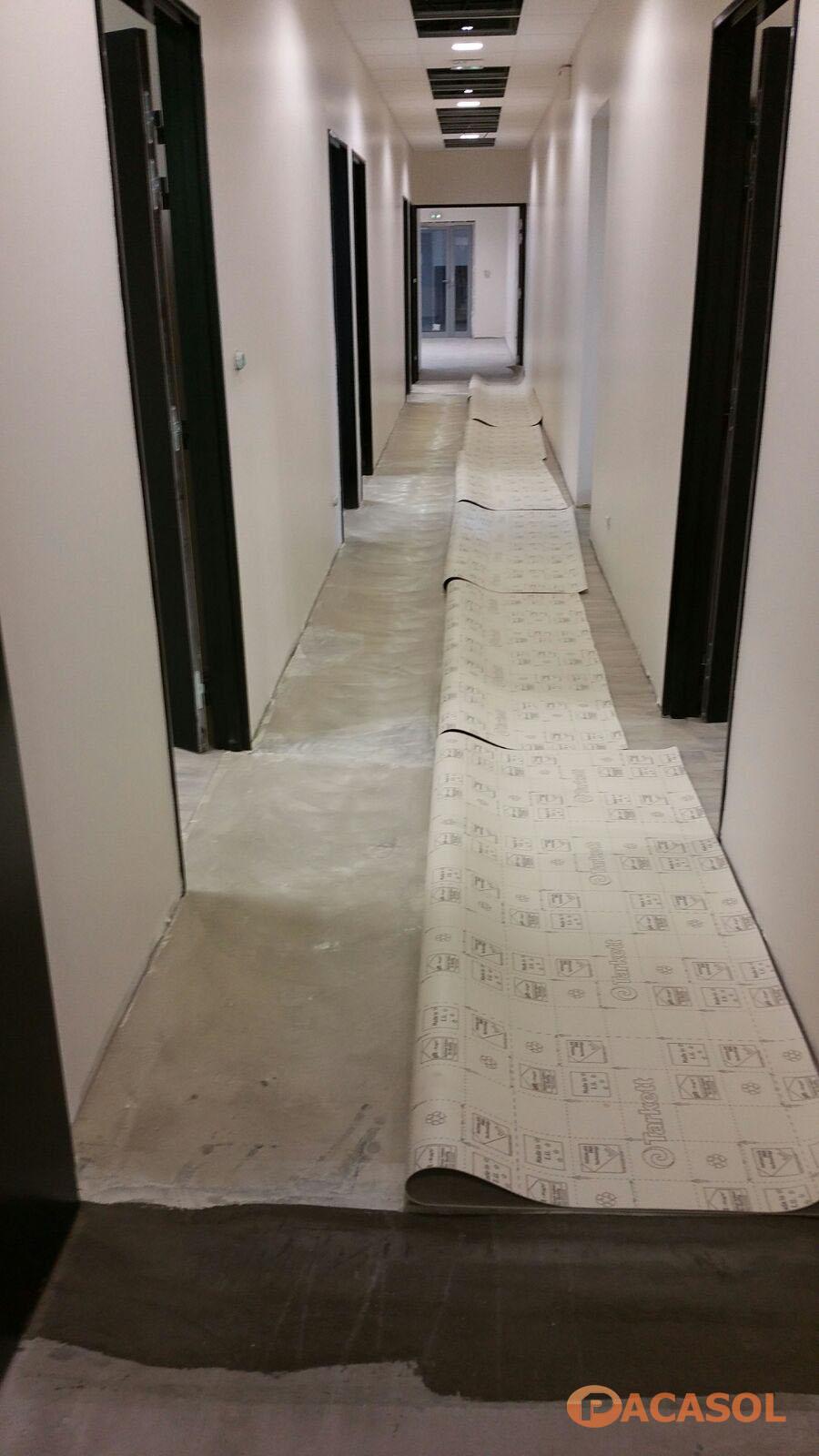 Revêtement de sol Tapiflex Excellence 4 Tarkett Lycée Jean Perrin Marseille - Pacasol
